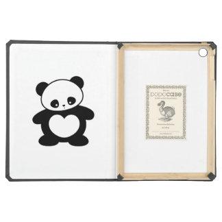 Kawaii panda iPad air case