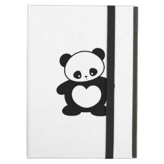 Kawaii panda iPad folio cases