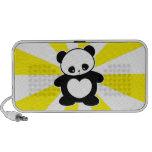 Kawaii panda iPhone speaker