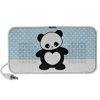 Kawaii panda iPod speakers