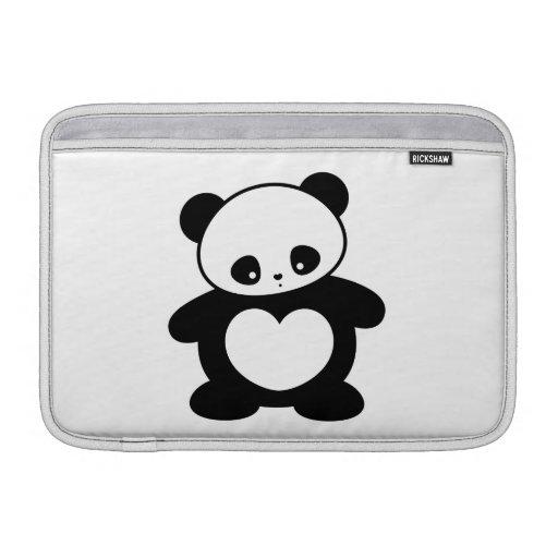 Kawaii panda MacBook sleeves