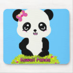 Kawaii Panda Mousepad