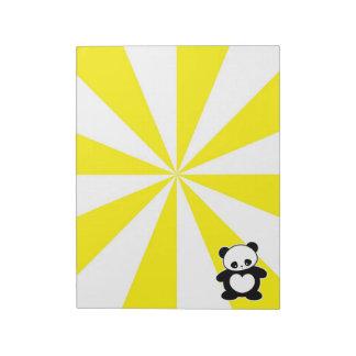 Kawaii panda memo notepad