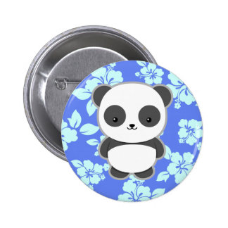 Kawaii Panda Pinback Button