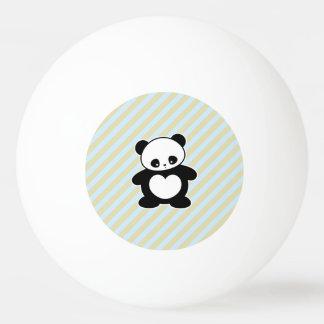 Kawaii panda Ping-Pong ball
