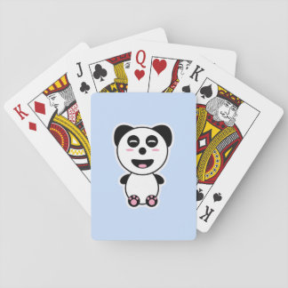 Kawaii Panda Playing Cards