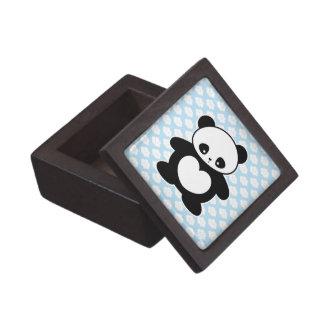 Kawaii panda premium trinket box