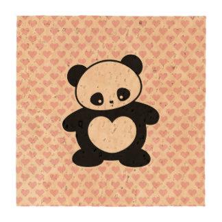 Kawaii panda coaster