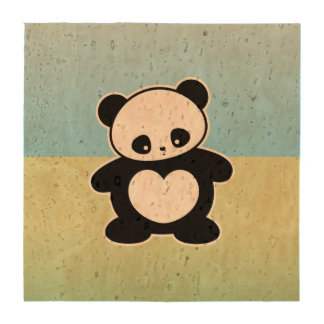 Kawaii panda coasters