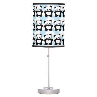Kawaii panda table lamp
