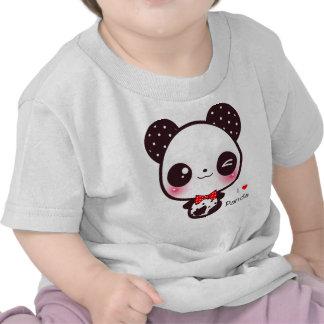 Kawaii panda tee shirt