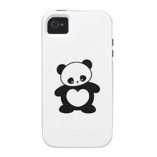 Kawaii panda vibe iPhone 4 case