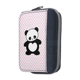 Kawaii panda wallets