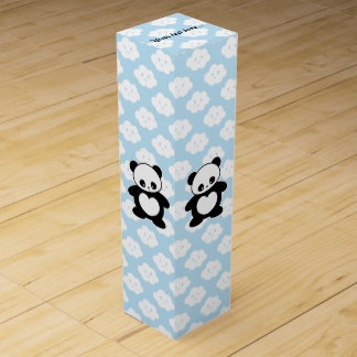 Kawaii panda wine box