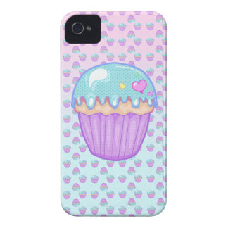 Kawaii Pastel Cupcake PhoneCase iPhone 4 Case-Mate Case