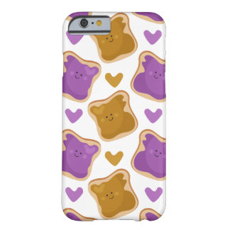 Kawaii PBJ Pattern Barely There iPhone 6 Case