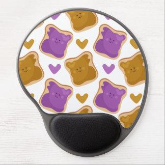 Kawaii PBJ Pattern Gel Mouse Pad