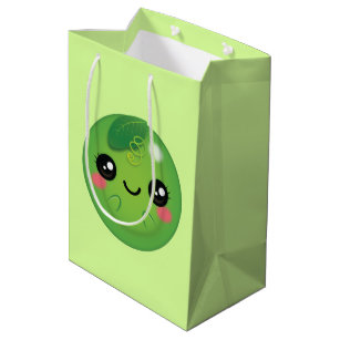 Kawaii Pea Medium Gift Bag