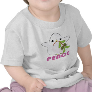 Kawaii Peace Dove with Olive Branch infant t-shirt