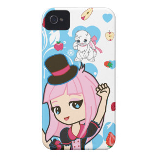 Kawaii Penelope the Gothic Lolita Chibi 9700/9780 iPhone 4 Cases