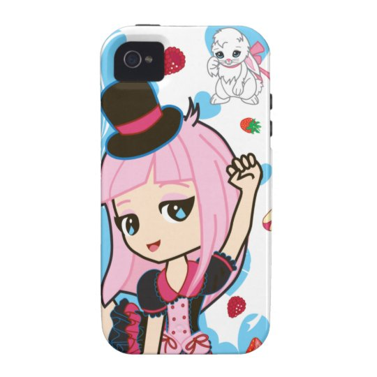 Kawaii Penelope the Gothic Lolita Chibi iPhone 4 Case-Mate iPhone 4 Case