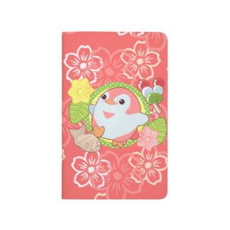 Kawaii Penguin and Wagashi Journal