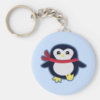 Kawaii penguin keychain