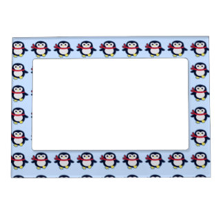 Kawaii Penguin Magnetic Frame