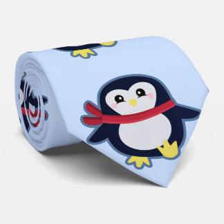Kawaii Penguin Tie