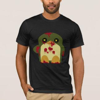 Kawaii Penguin Zombie Gruesome Horror T-Shirt