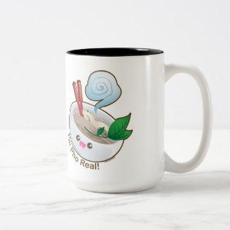 Kawaii Pho Real Two-Tone Coffee Mug