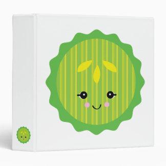 kawaii pickle slice binder