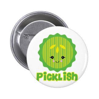kawaii picklish pickle slice button