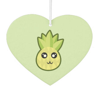 Kawaii pineapple car air freshener