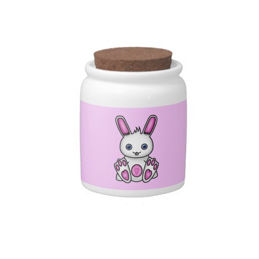 Kawaii Pink Bunny Candy Dishes