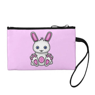 Kawaii Pink Bunny Change Purse