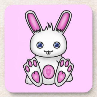 Kawaii Pink Bunny Coaster