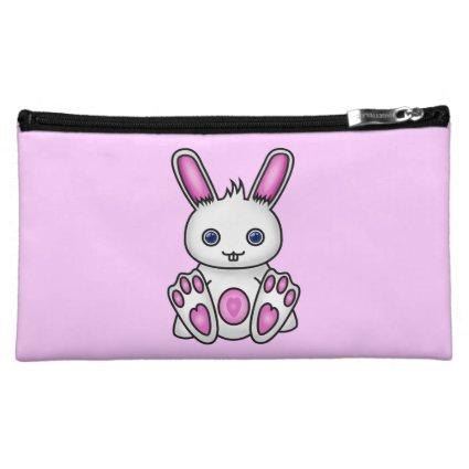Kawaii Pink Bunny Cosmetic Bag