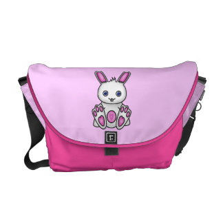 Kawaii Pink Bunny Courier Bags
