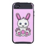 Kawaii Pink Bunny iPhone 4/4S Cases