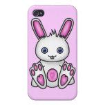Kawaii Pink Bunny iPhone 4 Cover
