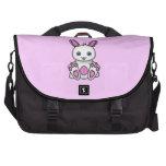 Kawaii Pink Bunny Laptop Computer Bag