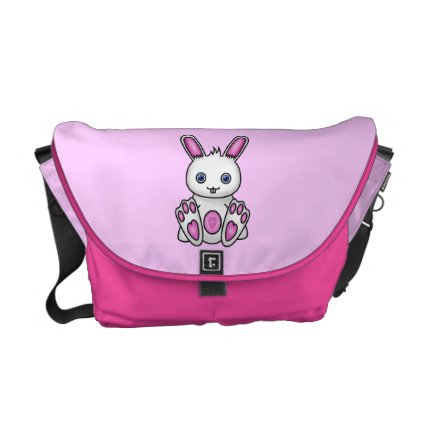 Kawaii Pink Bunny Messenger Bag