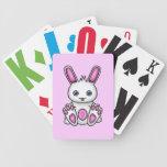 Kawaii Pink Bunny Poker Deck