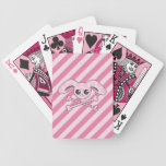 Kawaii Pink Bunny Skull Card Deck