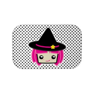Kawaii Pink Haired Witch Lunch Box