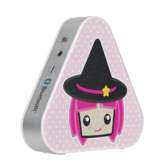 Kawaii Pink Haired Witch Speaker