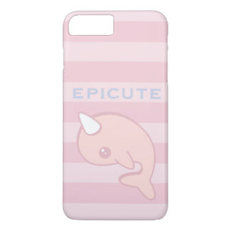 Kawaii Pink Narwhal iPhone 7 Plus Case