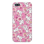 kawaii pink pattern covers for iPhone 5