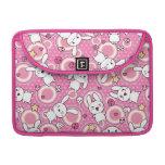 kawaii pink pattern sleeve for MacBooks